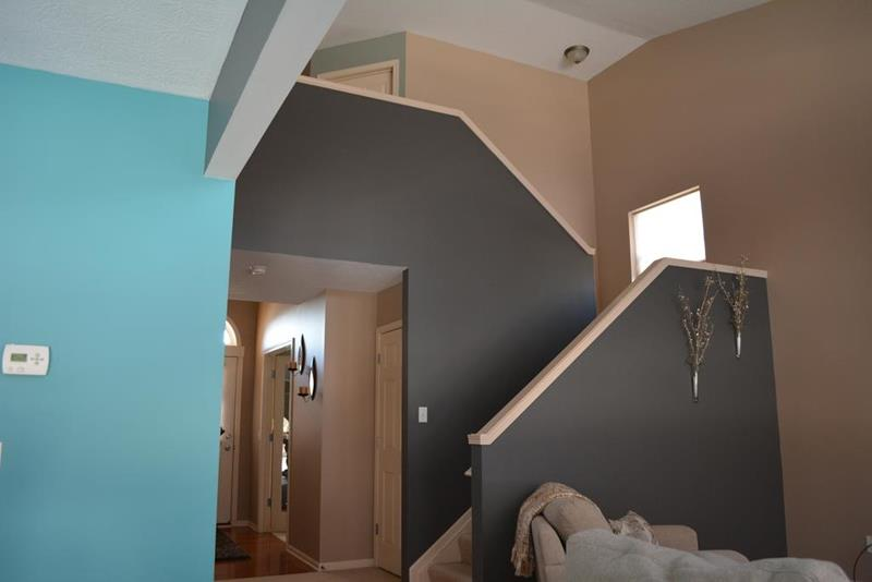 ... Home Interior Painting Stairwell ...