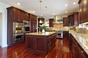 transforming outdated kitchen cabinets with glaze refinishing - Kitchen Cabinet Refinishing Ideas